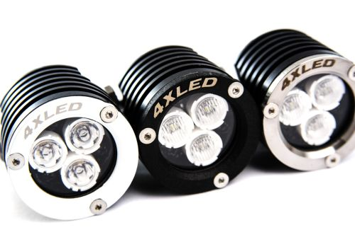 Reflector lamps LED Supermini for rally offroad motorbikes atv