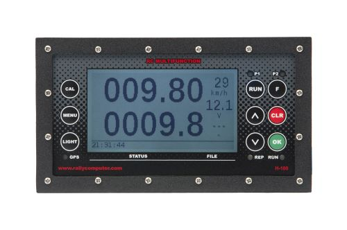 RC multifunction: H-100  TRIPMETER