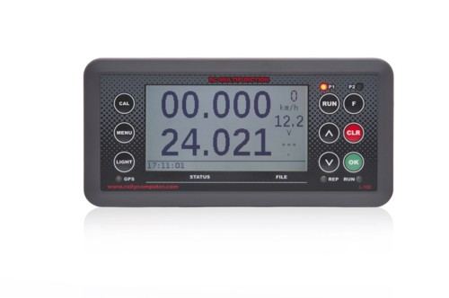 Tripmeter L 100 with azimuth routing 500