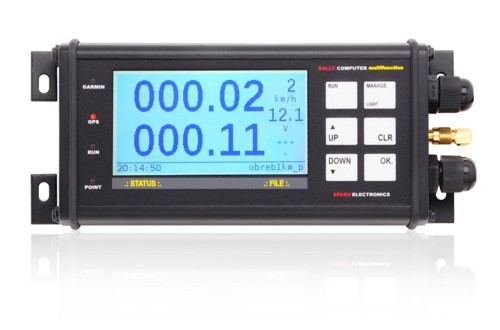 Rally computer multifunction TRIPMETER